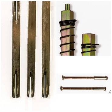 BOLT THRUS AND SPINDLES